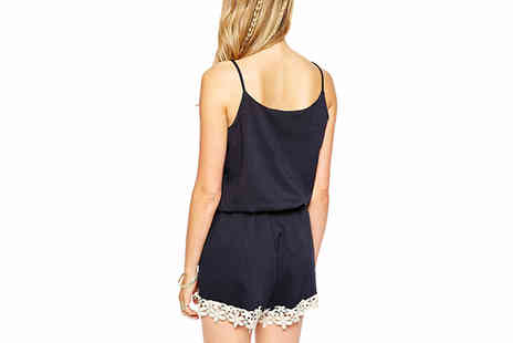 Shapelle - Cami Style Playsuit Choose 3 Sizes - Save 81%