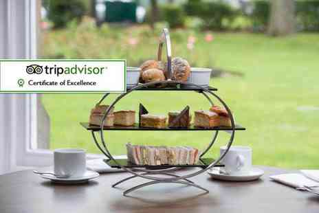Cedar Court Hotels - Afternoon tea for two or upgrade for a glass of Prosecco each - Save 50%