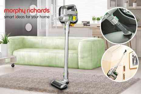 Qualtex UK - Morphy Richards 2 in 1 Cordless Supervac - Save 55%