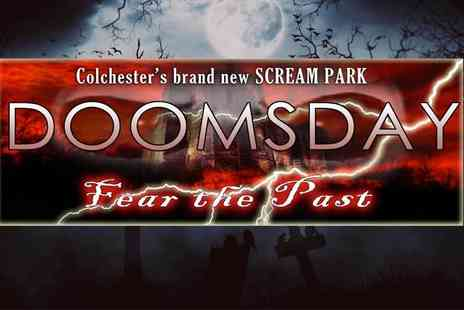 Doomsday - Ticket to Doomsday Scream Park choose from 10 dates - Save 25%