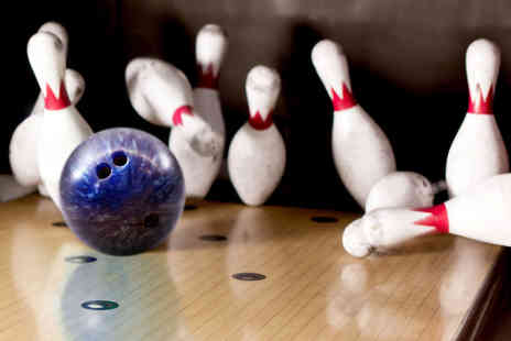 Genesis Family Entertainment Centre - One hour of bowling for up to six people including a soft drink each - Save 0%