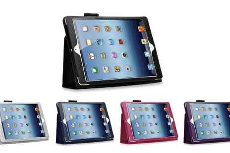 Groupon Goods Global GmbH - Case for iPad with Optional Accessories Bundle in Choice of Colour - Save 80%