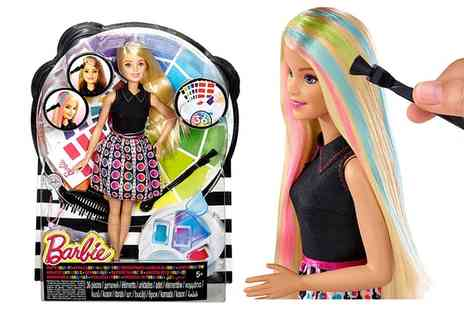 Groupon Goods Global GmbH - Barbie Mix n Colour Doll - Save 29%