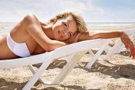 H2O Hair and Beauty - One or Two Spray Tan Sessions - Save 58%