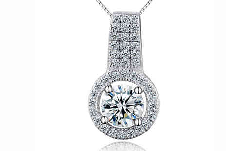 Van Amstel diamond - Hannah Crystal Cut Necklace - Save 84%