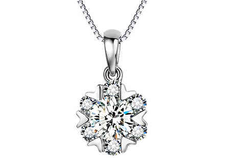 Van Amstel diamond - Cheryl Simulated Crystal Necklace - Save 86%