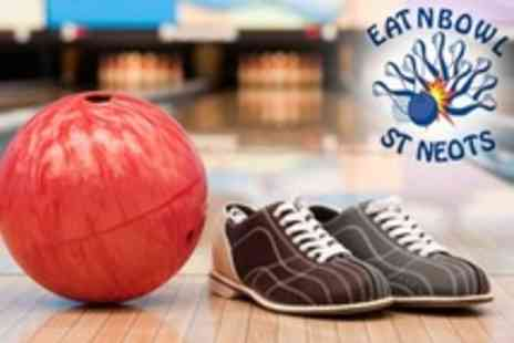 Eat N Bowl - Two Bowling Games For Up To Eight With Snack Platter - Save 80%