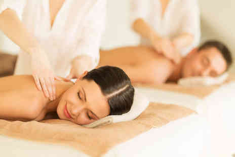Buyagift - Spa day for two with a Swedish back, neck and shoulder & mini scalp massage each - Save 0%