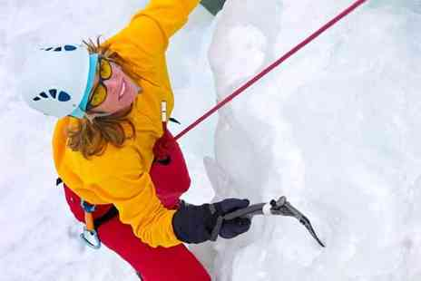 Buyagift - ice climbing excursion at a choice of two locations - Save 0%