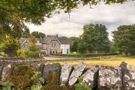 Newton House Hotel - One or two night Peak District break for two including breakfast and dinner with a bottle of wine - Save 62%
