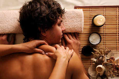Star Studios - Mens Relaxation Package, Mini Head Massage and Peppermint Treatment, Back Massage, Back Scrub and Facial - Save 75%