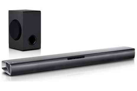 Groupon Goods Global GmbH - LG SJ2 2.1 Wireless Soundbar With Free Delivery - Save 13%