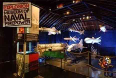 Explosion! Museum of Naval Firepower - Family ticket - Save 60%
