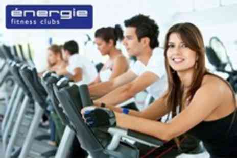 Energie Fitness - Six Week Gym Membership With Classes and Sauna Plus 30 Minute Session With Fitness Instructor - Save 81%