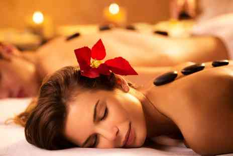 Your Body Business - Hot Stone Massage, 40 Minute Scalp Massage and Express Facial for One or Two - Save 65%