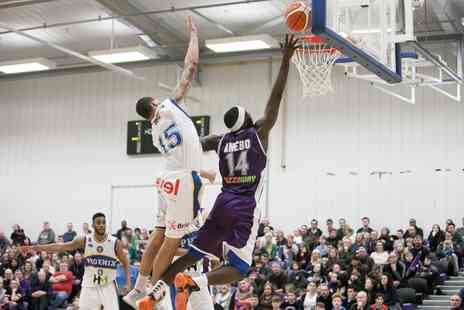 Leeds Force Basketball - Two adult or one family ticket to Leeds Force Fixtures on 13 October 2017 To 13 April 2018 - Save 38%