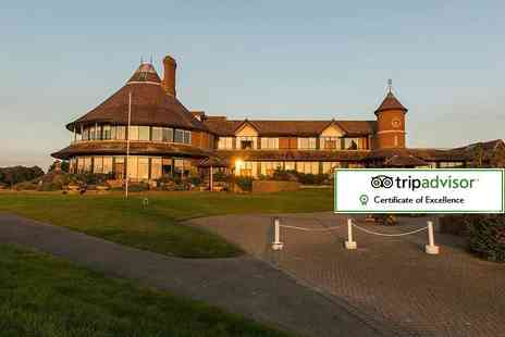 East Sussex National Hotel - Romantic overnight stay for two with dinner, breakfast, a Rhassoul mud treatment and leisure club access - Save 48%