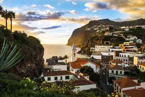 Super Escapes Travel - Five night Madeira beach break with breakfast, sea view upgrade and flights - Save 57%