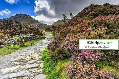 Royal Sportsman Hotel - Two night Snowdonia stay for two with breakfast, bottle of wine and cream tea - Save 56%