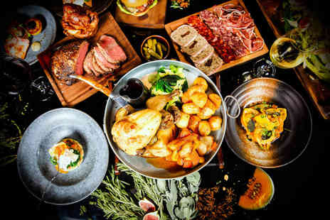 Malmaison - Sunday lunch for two with unlimited hors d oeuvres - Save 25%