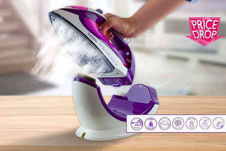 Groundlevel - Steam iron which works both cordless and corded - Save 72%