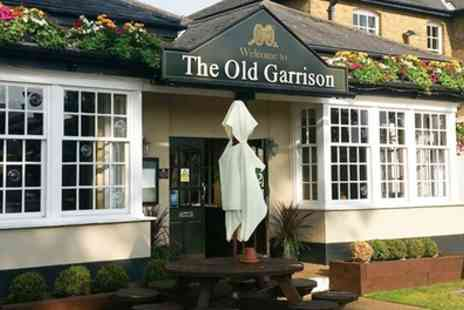 The Old Garrison - Pub Lunch for Two or Four - Save 39%