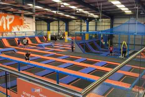 Top Jump - One Hour Trampoline Jumping Session for One, Two or Four - Save 20%