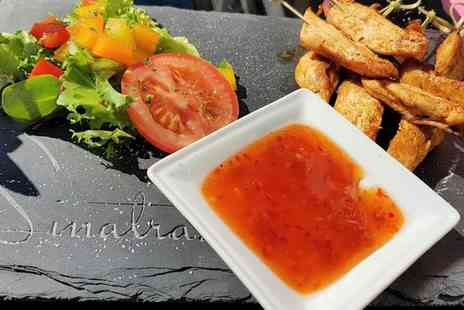 Sinatras Cafe Bar - Lunch with Drink for Two or Four - Save 50%