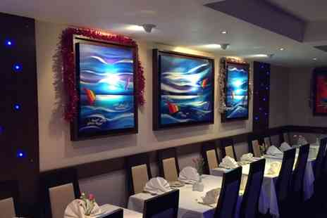 Moonlight Tandoori - Two Course Indian Meal with Rice or Naan for Two or Four - Save 47%