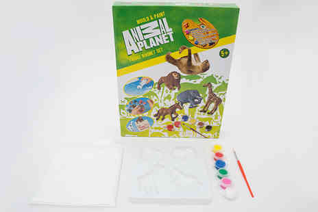 Ckent - Animal mould & paint fridge magnet kit - Save 75%