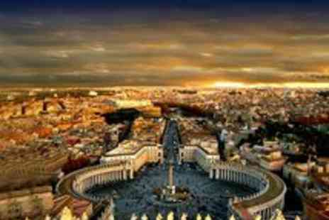 Jetline Holidays - 2 Nights in Rome including Flights on JUNE 2012 - Save 56%