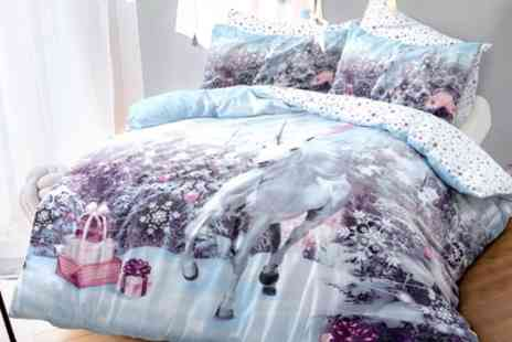 Groupon Goods Global GmbH - Pieridae Winter Sparkle Duvet Cover Set in Choice of Design - Save 63%