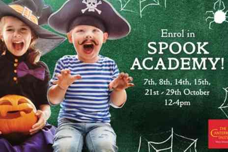 Canterbury Tales - One child, adult or family ticket to Spook Academy at Canterbury Tales on 7 To 29 October - Save 35%