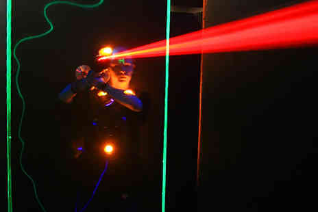 Dark Ocean Laser Gaming - Adrenaline fuelled 20 minute laser game - Save 80%