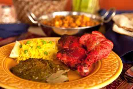 Indian Fusion - Two Course Indian Meal with Rice or Naan and Coffee for Two or Four - Save 55%