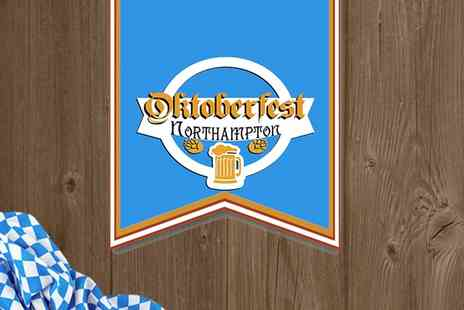Oktoberfest Northampton - One afternoon or evening ticket to Northampton Oktoberfest on 27 To 28 October 2017 - Save 27%