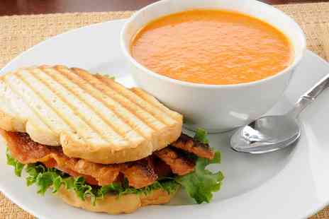 Cafe Bela - Soup, Sandwich and Drink for Two - Save 0%
