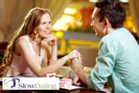 Slow Dating - Entry to a speed dating event in Leicester, Leeds, Birmingham or Nottingham - Save 55%