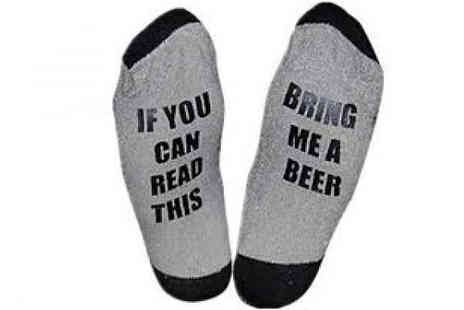 DML Solutions - If You Can Read This Socks Choose 7 Designs - Save 75%