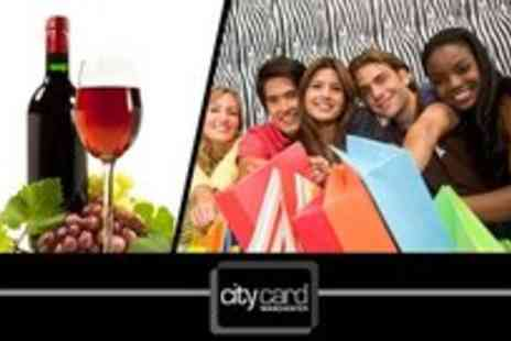 City Card - 12 month City Card membership plus a free bottle of wine - Save 75%