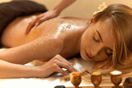 Red Letter Days - Gold and caviar body scrub and Champagne body wrap treatment including a glass of bubbly - Save 0%