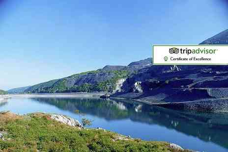 Padarn Hotel - Two night Snowdonia stay including dinner, breakfast and late check out - Save 55%