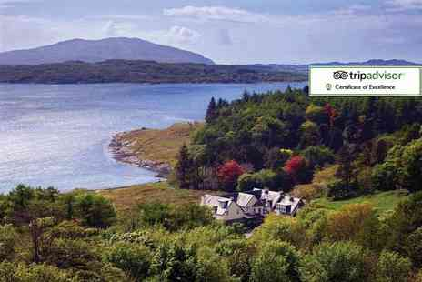 Loch Melfort Hotel - Two night stay for two with breakfast or with dinner on one nights - Save 56%