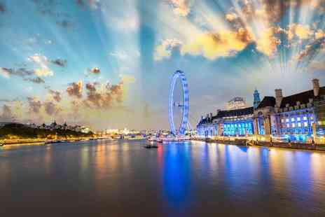 OMGhotels - Overnight 3 Star London stay with London Eye ticket and breakfast - Save 0%