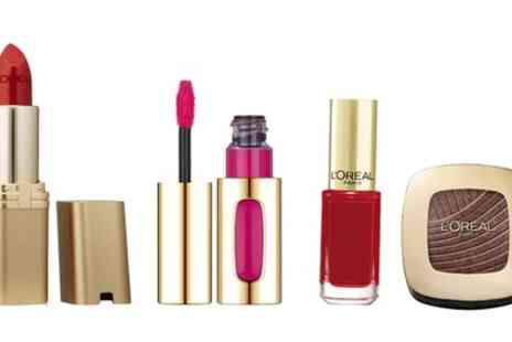 Groupon Goods Global GmbH - One or Two LOreal Color Riche Four Piece Sets - Save 77%