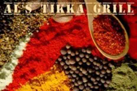 Als Tikka Grill - Two Courses of Indian Cuisine For Six - Save 66%