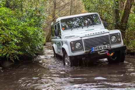 Land Rover Start Off Road - Choice of Manufacturing Tour or Half or Full Day Driving Experience - Save 0%