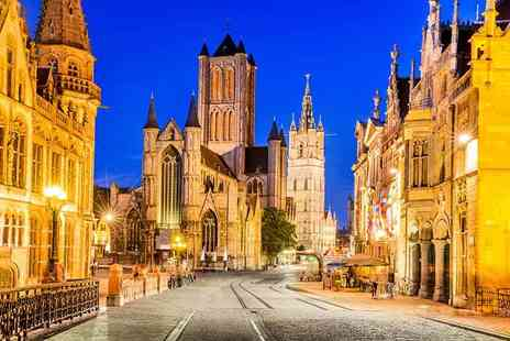 Abbey Tours UK - Day trip for one to Ghent, Belgium including coach transfers - Save 62%