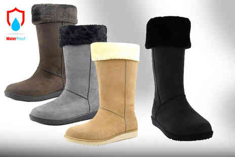 Class Watches - Pair of womens waterproof boots choose from four colours - Save 71%