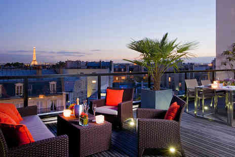 L Edmond Hotel - Four Star Modern Style near the Champs Elysees - Save 56%
